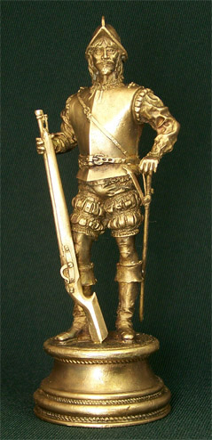 Bronze sculpture Conquistador